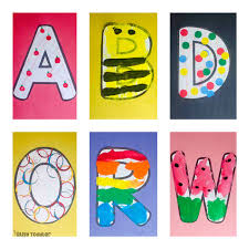 ALPHABET CRAFTS BUNDLE What A Fun Way To Play With The Alphabet These