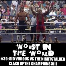 Halloween Havoc 1998 Hogan Vs Warrior by The Wrestling Section Worst In The World Sid Vicious Vs The