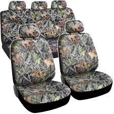 100 Camo Seat Covers For Trucks BDK Hawg Full Car Full Front And Rear Set 9pcs