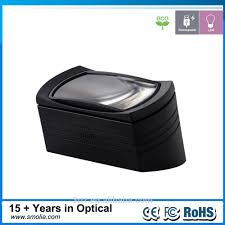 Magnifier Lamp 10x Magnification by Square Magnifying Glass Led Light Square Magnifying Glass Led