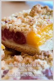 rezept für einen saftigen hefe blechkuchen mit obst und