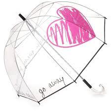 Shed Rain Umbrella Nordstrom by Felix Rey Rain Rain Go Away Clear Umbrella 180 Brl Liked On