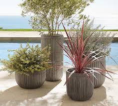 Concrete Fluted Planters | Pottery Barn AU Jenny Castle Design Outdoor Spring Things Creating An Inviting Fall Front Porch Pottery Barn Plant Stunning Planters For Sale On Really Beautiful Usa Home Decor Trwallpatingdiyenroomdecorpotterybarn Startling Blue Diy Cement Craft Diane And Dean My Patio Progress California Casual Hamptons Backyard Style Articles With Tuscan Tag Excellent 1 Brittany Garbage Can Shark Trash Vintage Mccoy Green