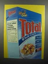 2005 General Mills Total Cereal Ad