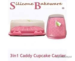 MrChefreg 3 In 1 Cake Caddy Or Amp Cupcake Carrier