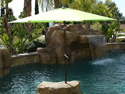 Patio Set Umbrella Walmart by Patio 51 Striped Walmart Patio Umbrella With Square Base