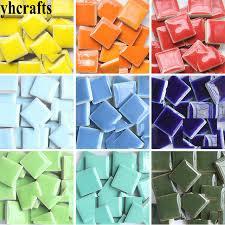 140pcs 600gram lot mix 2cm ceramic mosaic tile scramble tiles