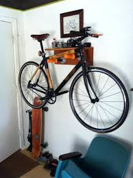 Ceiling Mount Bike Lift Walmart by Bike Holder For Wall How To Make A Wall Mount Bicycle Rack Walmart