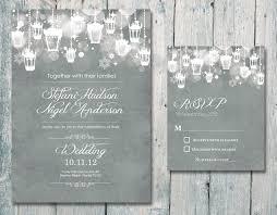 Unique Winter Wedding Invitation