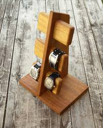 Mens Dresser Valet Charging Station by Iphone Stand With Mens Valet Men Watch Holder Men Watch Stand