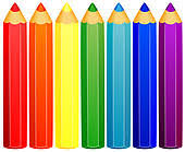 Colored Pencils Clip Art Royalty Free GoGraph