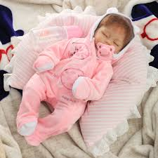 11inch Handmade Reborn Baby Doll Silicone Lifelike Play House Toy