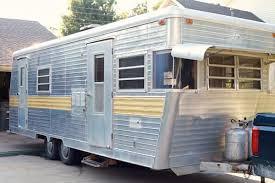 Vintage Camper Turned Glamper