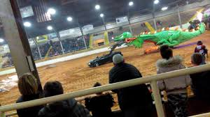 Robot Dragon At No Limits Monster Truck Show @ Hardy Murphy Coliseum ...