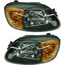 headlight light covers for hyundai accent ebay