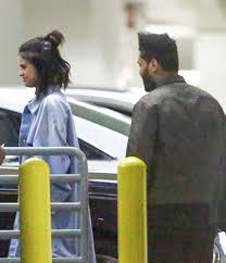 Dave And Busters Halloween 2017 by Selena Gomez And The Weeknd Leaving Dave U0026 Buster U0027s In Hollywood