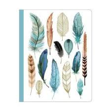 Arrows Feathers Deluxe Spiral Notebook Galison