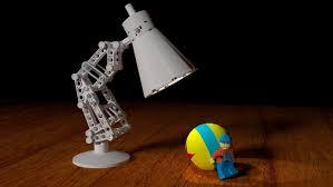 Luxo Jr Lamp Model by Moc Pixar Lamp Luxo Jr Lego Licensed Eurobricks Forums