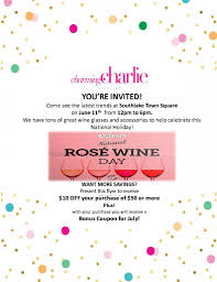 Celebrate National Rose Wine Day At Charming Charlie ... Charming Charlie Printable Coupons 96 Images In Collection Bogo Jewelry Sale Prices Start At 299 Its Finally Football Season We Want Charm Club Mingcharliecom Nicks Sticks Discount Code Buildabear Dtown Disney Paisley Grace Coupon Competitors Revenue And Employees Owler By Mz Sony Vaio Coupons E Series Do You Shop With Groupon Apple Moms The Hudson Up To 50 Off Store Closing New Disney Is Just