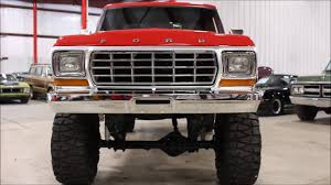 100 1979 Ford Truck For Sale F250 Red Lifted YouTube