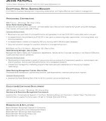 Banker Resume Samples Small Business Sample Investment Banking