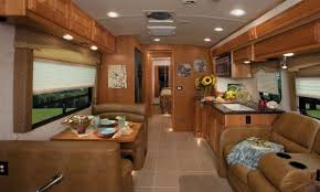 Adventurer Truck Camper Interior Decor Features Rv