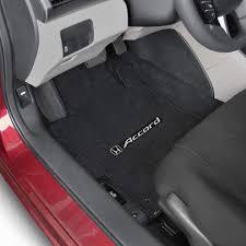 2003-2007 Honda Accord Logo Lloyd VELOURTEX 2 Piece FLOOR MAT SET ...