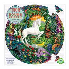 Puzzle 1000 Piezas Redondo Unicornio