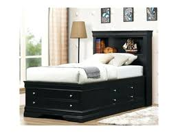 King Size Platform Bed With Headboard by Full Storage Bed With Bookcase Headboard U2013 Robys Co
