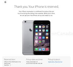 iPhone 6 Reserve and Pick Up Goes Live in Canada Here s the Link