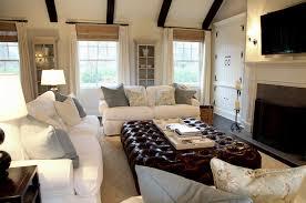 white leather sofas transitional living room moth design