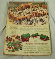 Sears Canada Pre Lit Christmas Trees by Vintage Sears 1955 Christmas Book Catalog Ebay Santa U0027s