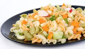 salade de pâtes froides aux légumes recettes du québec