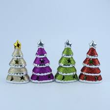 Mini Ceramic Christmas Tree Decor