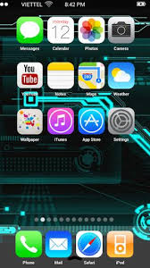 Download Fake iPhone 5s iOS 7 Launcher APK 1 1 9 fake iphone 5s
