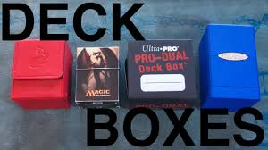 what is the best deck box for magic the gathering compare