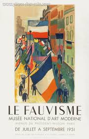 expo musee moderne dufy raoul affiche expo 51 le fauvisme musée national d