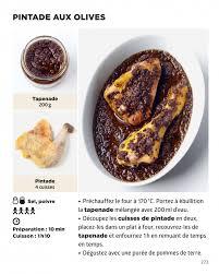 recherche recette de cuisine pintade aux olives la cuisine la plus facile du monde