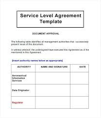 Service Level Agreement Template Issue Well Pics Example With Medium Image Outsourcing Definition Computer Agre