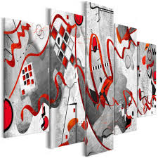 bilder drucke bilder leinwand bild kandinsky abstrakt grau