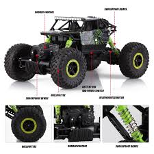 Car 2.4Ghz 4WD Off Road RC Rock Crawler Truck Remote Control 1/18 ... Daymart Toys Remote Control Max Offroad Monster Truck Elevenia Original Muddy Road Heavy Duty Remote Control 4wd Triband Offroad Rock Crawler Rtr Buy Webby Controlled Green Best Choice Products 112 Scale 24ghz The In The Market 2017 Rc State Tamiya 110 Super Clod Buster Kit Towerhobbiescom Rechargeable Lithiumion Battery 96v 800mah For Vangold 59116 Trucks Toysrus Arrma 18 Nero 6s Blx Brushless Powerful 4x4 Drive