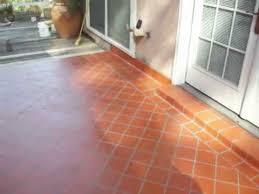 Tile Installation Patio Floor Quarry Tile 6X6