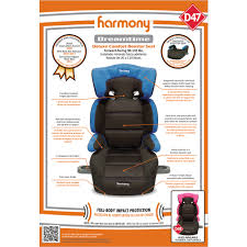 Graco Harmony High Chair Recall by Harmony Dreamtime Deluxe Comfort Booster Car Seat Blue Walmart Com