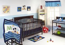 amazon com disney my friend mickey 4 piece crib bedding set baby