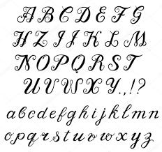 Sierlijke Lettertypes Alfabet ARCHIDEV