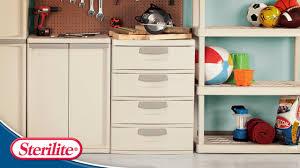 Sterilite 2 Shelf Storage Cabinet 2 Pack by Sterilite Cabinet 4 Shelf Like New Sterilite 4 Shelf Utility