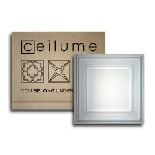 Ceilume Drop Ceiling Tiles by Amazon Com 10 Pc Ceilume Stratford Ultra Thin Feather Light 2x2