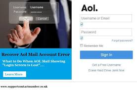 while login to your aol mail account in the event that you can t