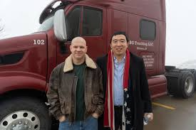 100 Truck Country Davenport Ia Life On The Road Andrew Yang For President
