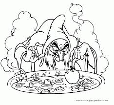 Free Desktop Coloring Disney Snow White Pages To Print At And The Seven Dwarfs